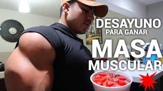 DESAYUNO DE AVENA PARA GANAR MASA MUSCULAR I DEFINICION Y VOLUMEN I Ismael Martinez