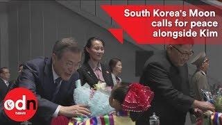 South Korean President urges peace alongside Kim Jong-u