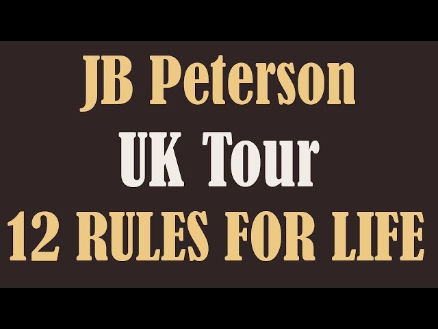 UK 12 Rules Tour: October and November