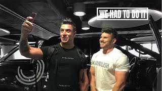 Getting Naked In The Birmingham Streets With Tom Coleman | BodyPower 2018