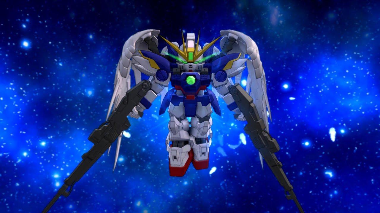 Sd Gundam Next Evolution Wing Gundam Zero Ew Sdgn