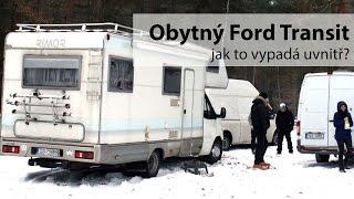 Velký obytný Ford Transit s alkovnou [EXKURZE]