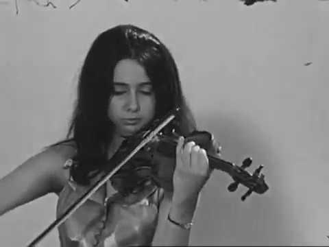 Silvia Marcovici in 1969 - Cadenza Mozart