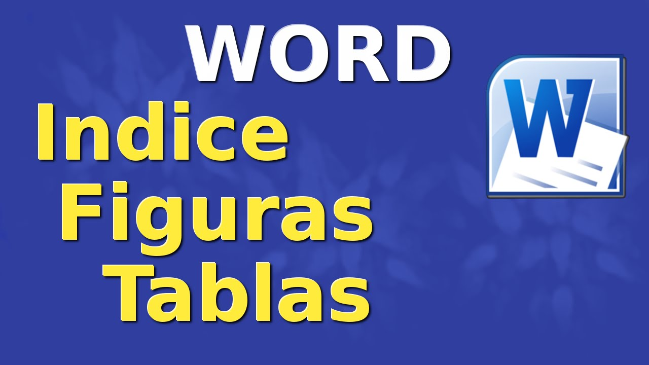 How To Insert Or Create Index Of Figures Or Tables In Word