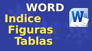 Como insertar o crear índice de figuras o cuadros en word thumbnail
