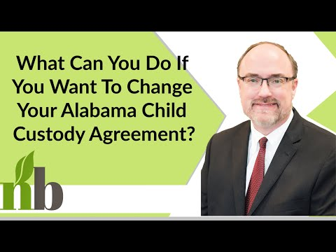 What Can You Do If You Want To Change Your Alabama Child Custody Agreement? | Huntsville Alabama