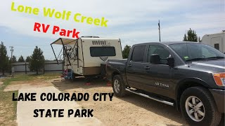 A nice RV Park alternative if you can't stay at Lake Colorado City State Park. Well worth the money