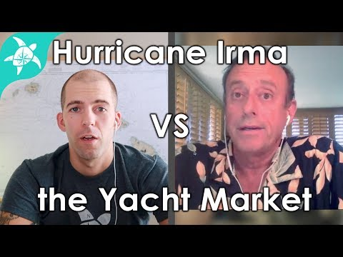 Hurricane Irma's impact on the yacht market.. with Gary Fretz