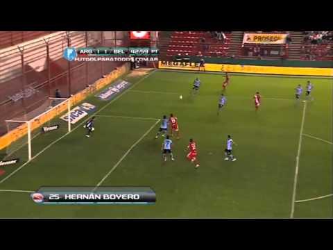 Argentinos 1 -  Belgrano 3