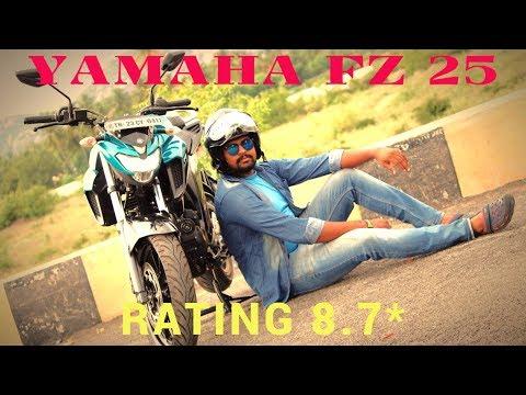 2017 Yamaha FZ 25 Review Tamil   Wheeling Drive