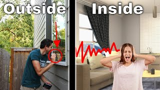 Secretly Turning People's Windows Into Giant Speakers With Amplified Vibrations