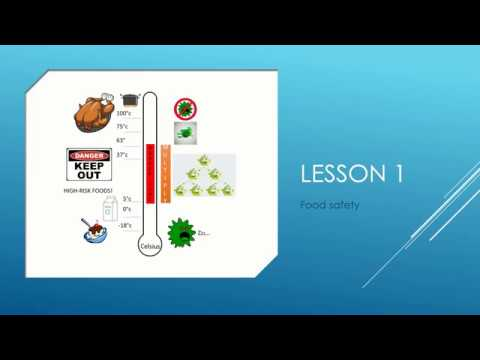Food Safety - Lesson 1