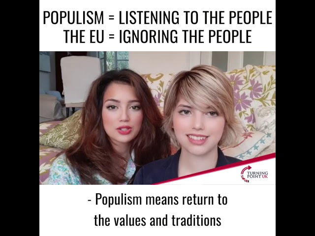 Populism listens to the people. The EU ignores the people.