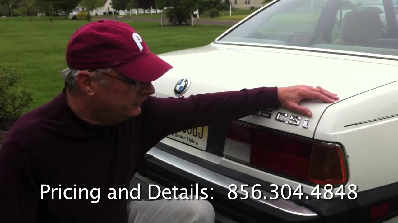 1986 BMW 635 CSi For Sale by Owner  YouTube