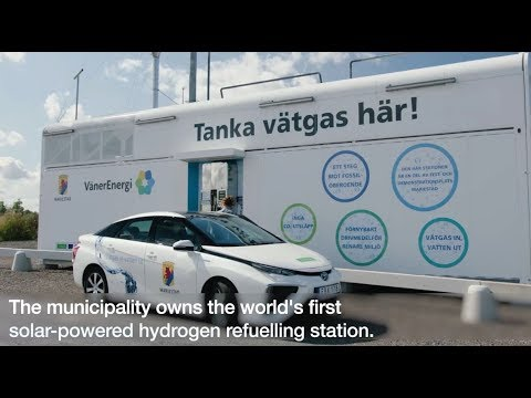 Hydrogen Technology – World's First Solar-Powered Hydrogen R