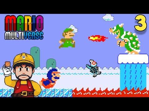 Corre Luigi, Corre!! - Jugando Mario Multiverse con Pepe el Mago (#3)