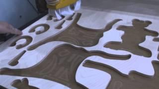 Фрезерный станок с ЧПУ LIGA NM1212 выставка Сокольники(Возможность изготавливать сувенирную продукцию, резные элементы и панно,а при необходимости использовать..., 2015-02-19T07:54:55.000Z)
