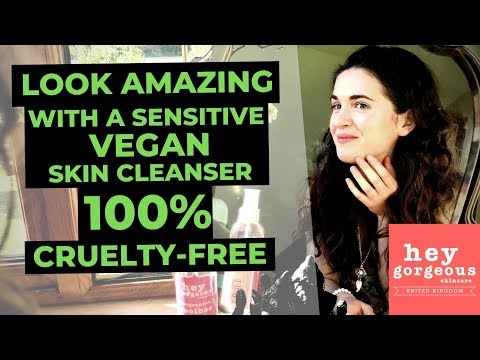 Look Amazing with a Sensitive Vegan Skincare – 100% Cruelty- Free