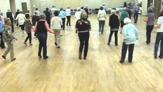 Rockin' The Wagon Wheel Line Dance - Maple Ridge