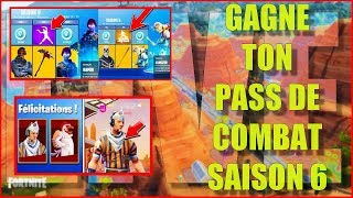 LIVE FORTNITE GAGNE TON PASS OF COMBAT SAISON 6 / RECRUTEMENT TEAM OBSCURIA