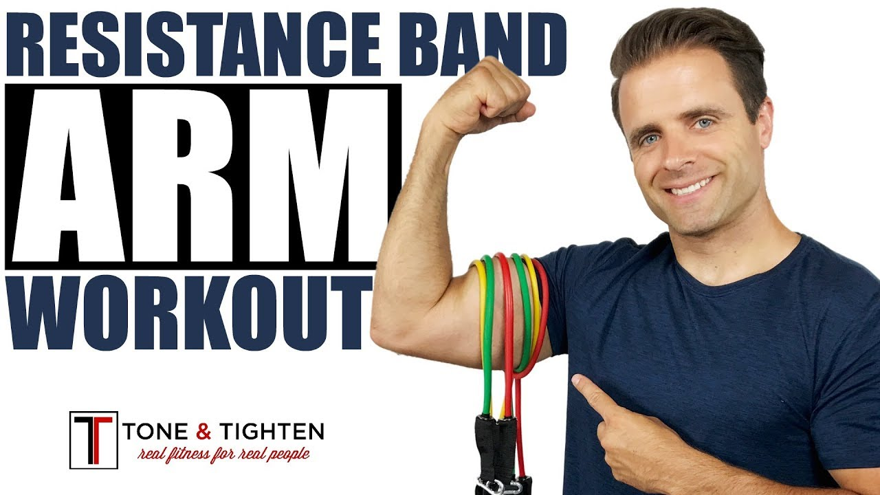 Resistance Band Arm Workout 6 Best Resistance Band Exercises To