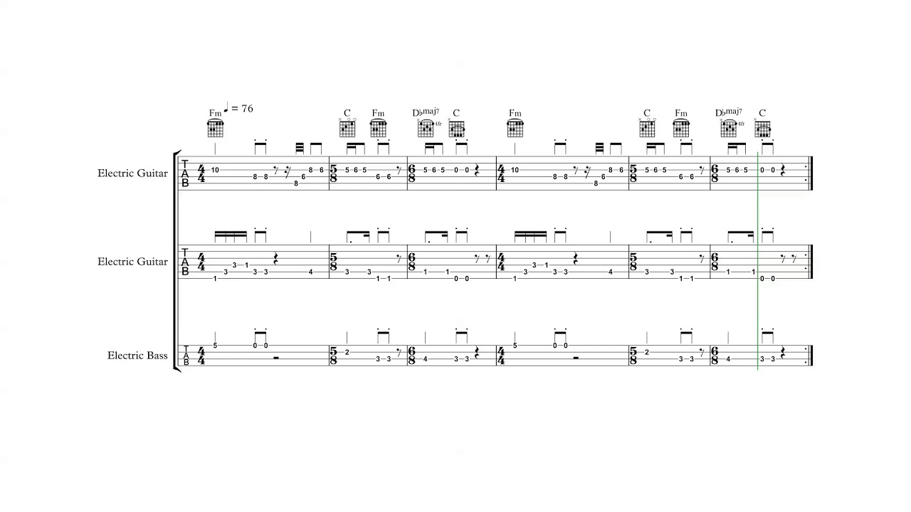 Wizards Warriors Tree Guitarbass Tabs Chords Youtube