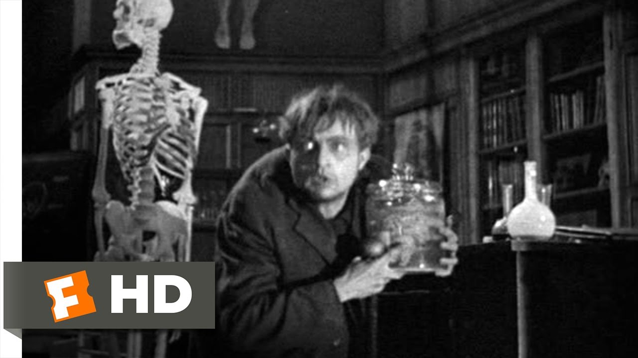 frankenstein movie clip fritz steals the brain hd frankenstein 1 8 movie clip fritz steals the brain 1931 hd