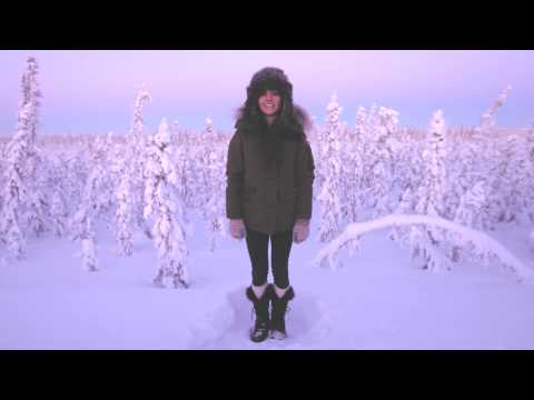 Lights sings Siberia a capella in Canadian arctic