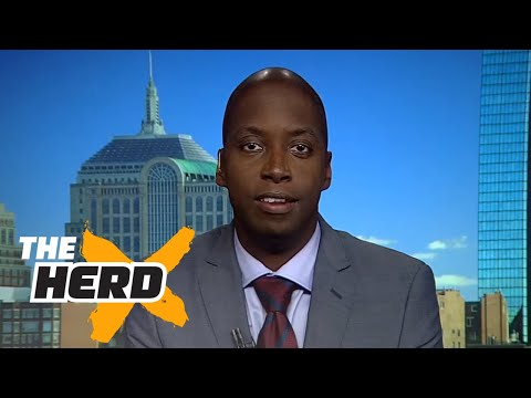 Michael Holley and Colin talk Brady and Belichick - 'The Herd' (FULL INTERVIEW)
