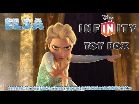 Мультик Игра - ХОЛОДНОЕ СЕРДЦЕ - Эльза в Коробке с Игрушками(Disney Infinity Elsa in Toy Box)