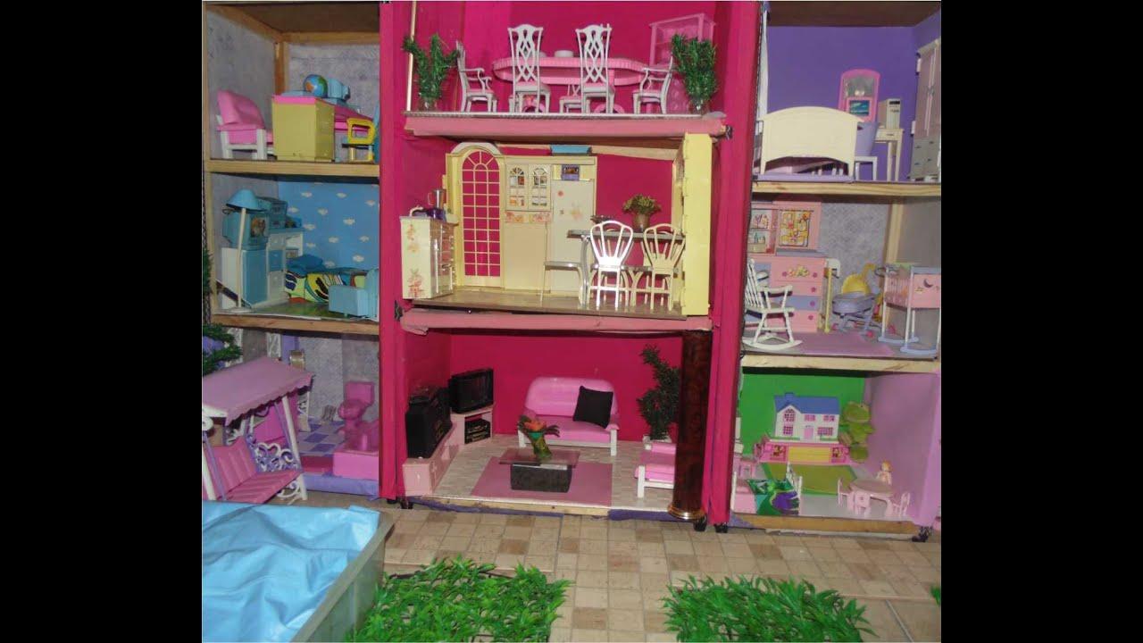 Minha primeira casa para barbie youtube - Supercasa de barbie ...