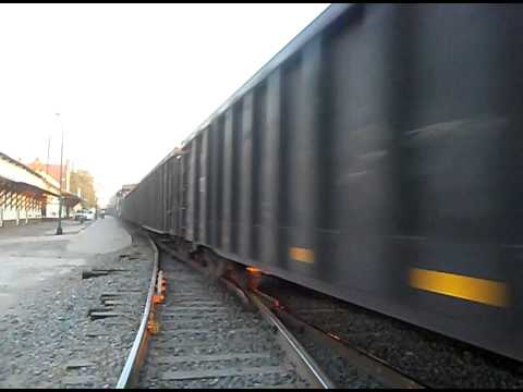 ferromex a alta velocidad con metalero