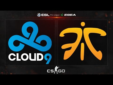 CS:GO - Cloud9 vs. fnatic [Dust2] - ESL ESEA Pro League Fina
