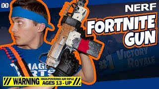 Nerf Fortnite Tactical SMG In Real Life