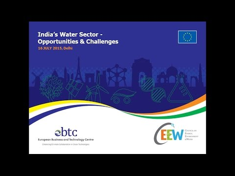 WEBINAR: India's Water Sector - Opportunities & Challenges