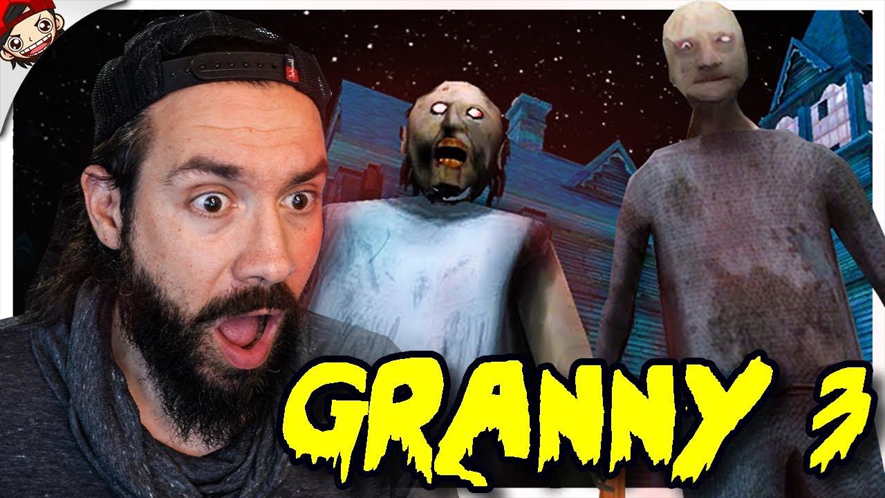 GRANNY 3 Le Retour De Granny et de Grandpa ! Help