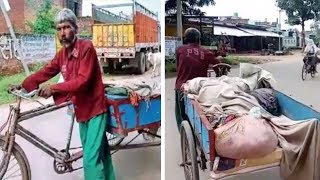 Allahabad: Denied ambulance by hospital, man forced to carry wife's body on cart