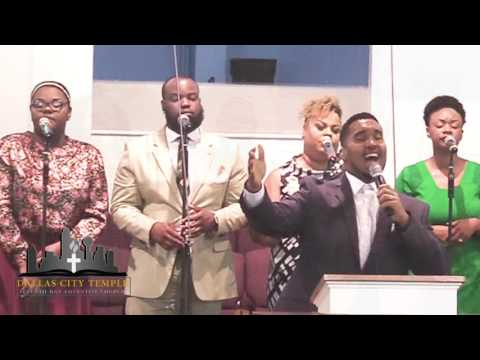"""My God Is Awesome,"" DCT PRAISE TEAM led by Brandon Hurst, Dallas City Temple,July 9 2016"