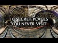 10 Secret Places you Never Want to Visit on Earth | Top 10 List