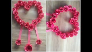 How to make a paper flowers।। Origami Paper flower।। kagojer ful।। কাগজের ফুল