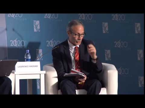 Lawrence Haddad  - Chair: Plenary 10, Report from parallel sessions