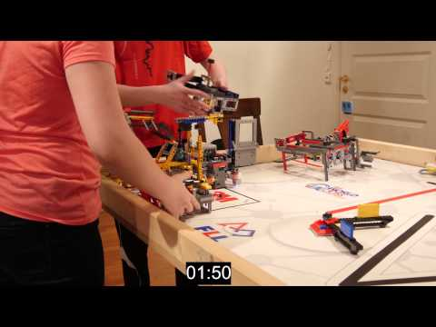 FIRST LEGO League World Class 2014 - 2015 Nonstop 858 points