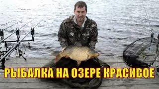 Рыбалка на озере Красивое 9-11 июня 2018. Ловля крпа.#carpyatnikTV#рыбалкаскарпятником#carpfishin