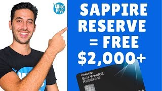 Chase Sapphire Reserve Review | Get $2000+ Travel The First Year