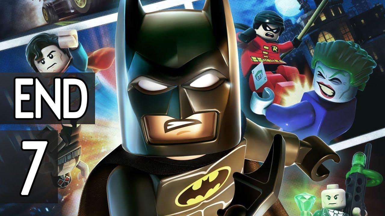 Lego Batman 2 DC Super Heroes - ENDING Part 7 Walkthrough ...