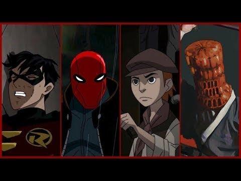 Jason Todd Red Hood Robin Evolution In Cartoons 2018 Youtube