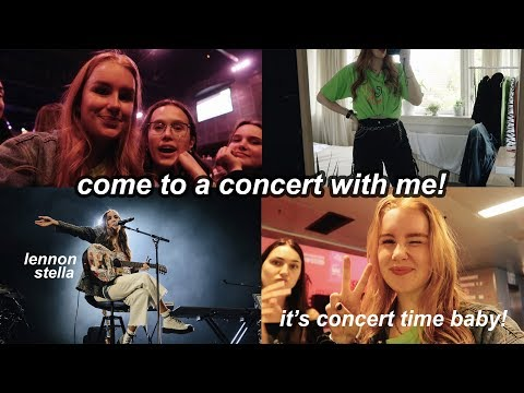 Come With Me To A Lennon Stella Concert And Watch Me Go Crazy