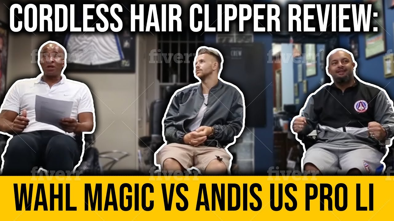 Cordless Hair Clipper Review  Wahl Magic Vs Andis US PRO Li - YouTube f9428886632