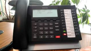 How to Change the Time on Toshiba Telephones ACC Telecom Video