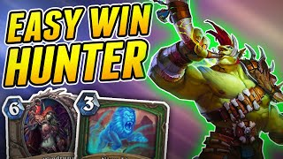 I would label this Deck as Unfair | Wild Spell Hunter | Hearthstone Rise of Shadows